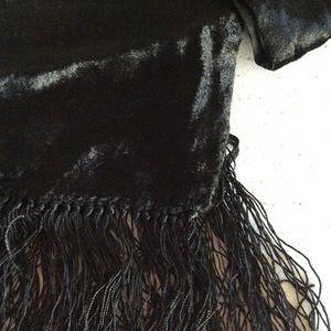 Crushed Velvet oblong scarf